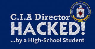cia director hacked by student